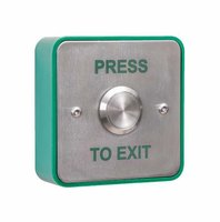 RGL Stainless Steel Architrave Press to Exit Button