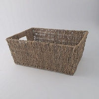 Large Seagrass Hamper Basket