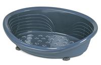 Straka 90 Plastic Dog Bed (90cm Base) - Blue