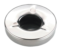 Ashtray c/w Lid S/S 2 Pce 4.5""