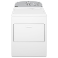 Whirlpool 15KG Dryer 6th Sense 3LWED4815FW  Atlantis American Style Commercial Vented Dryer