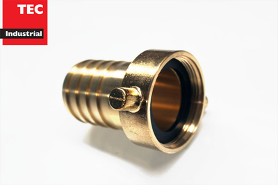 Brass Hose Fitting BSPF