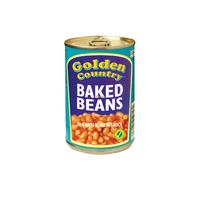 Tin Baked Beans-Golden Country (24x420g)