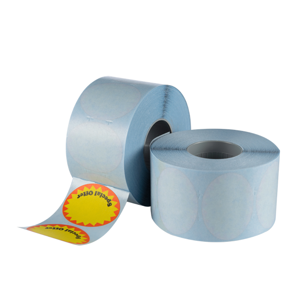 LYNX CT15 34x26mm Labels 'Special Offer' - Yellow Oval Flash Permanent (Box 17.5k)