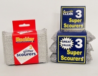 SPARKLE SCOURERS 3pk