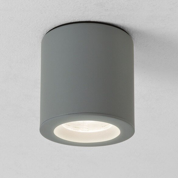 ASTRO Kos Round Surface Downlight Painted Silver