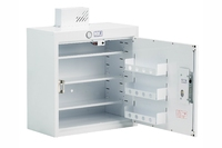 Drug & Medicine Cabinet with Shallow and Door Shelves