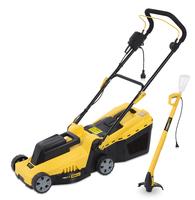 Powerplus 1200W Electric Lawnmower & Strimmer Combo
