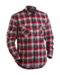 Red and Navy Blue Blaklader 3328-1134 Flannel Shirt