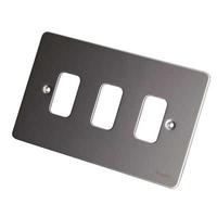 Ultimate GRID Mirror Steel GANG PLATE LV0701.1002