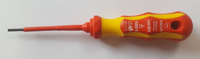 Screwdriver Slotted VDE 2.5x75mm