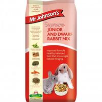 Mr Johnson's Supreme Junior & Dwarf Rabbit Mix 15kg [Zero VAT]