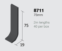 8711 SIT ON SKIRT 75 x 2mm x 2m