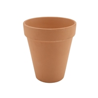 Terracotta Pot Tall Rustic 10 x 12cm