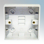 VIMARK SURFACE BOX 25mm SINGLE