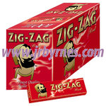 Zig Zag Red Cigarette Papers x100