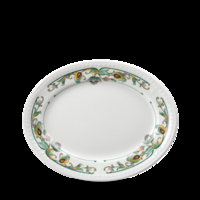 Plate/Platter Oval 25.4cm Carton of 12