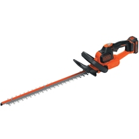BLACK & DECKER CORDLESS 45CM HEDGETRIMMER 18V