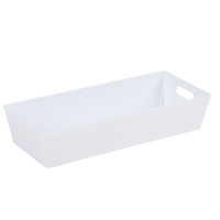 Wham Studio Tray 11x25cm Rectangular 2.01 Ice White