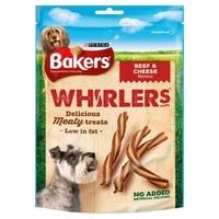 Bakers Treat Whirlers - Beef 175g x 6