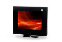 "Vigilant Vision 5"" LED Metal Cased Monitor with BNC & Glass Front"