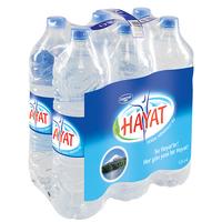 Bottle Water (Still)-Hayat-(6x1.5lt)