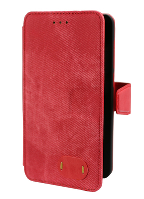 FOLIO1247 Huawei Y5II Red Denim Folio