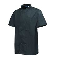 Stud Jacket Black Short Sleeve Large 112-116cm