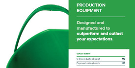 5. Klipspringer Product Guide 2017 - Production equipment