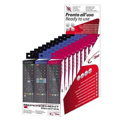 TV Remote Control Shop Display Kit Contains 10 x Samsung 10 x Lg 10 x Sony