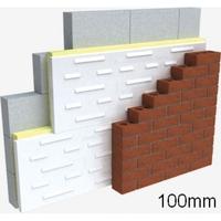 CAVITY WALL 100MM FULL FILL PK (2.16m2 Per Pack - 4 SHEETS)