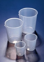 Beaker Pp With Grad'S And Spout To Iso70