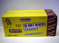 Suet to Go Suet Block Multipack Peanut 10-Pack x 1