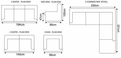 Dillon Modular Sofa 4
