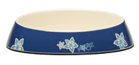 Rogz Melamine Cat Bowlz Fishcake - Blue Floral 200ml x 1