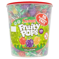 Toys Fizzy Pop Fruit  Flavour Lollipop With Candy 20ml