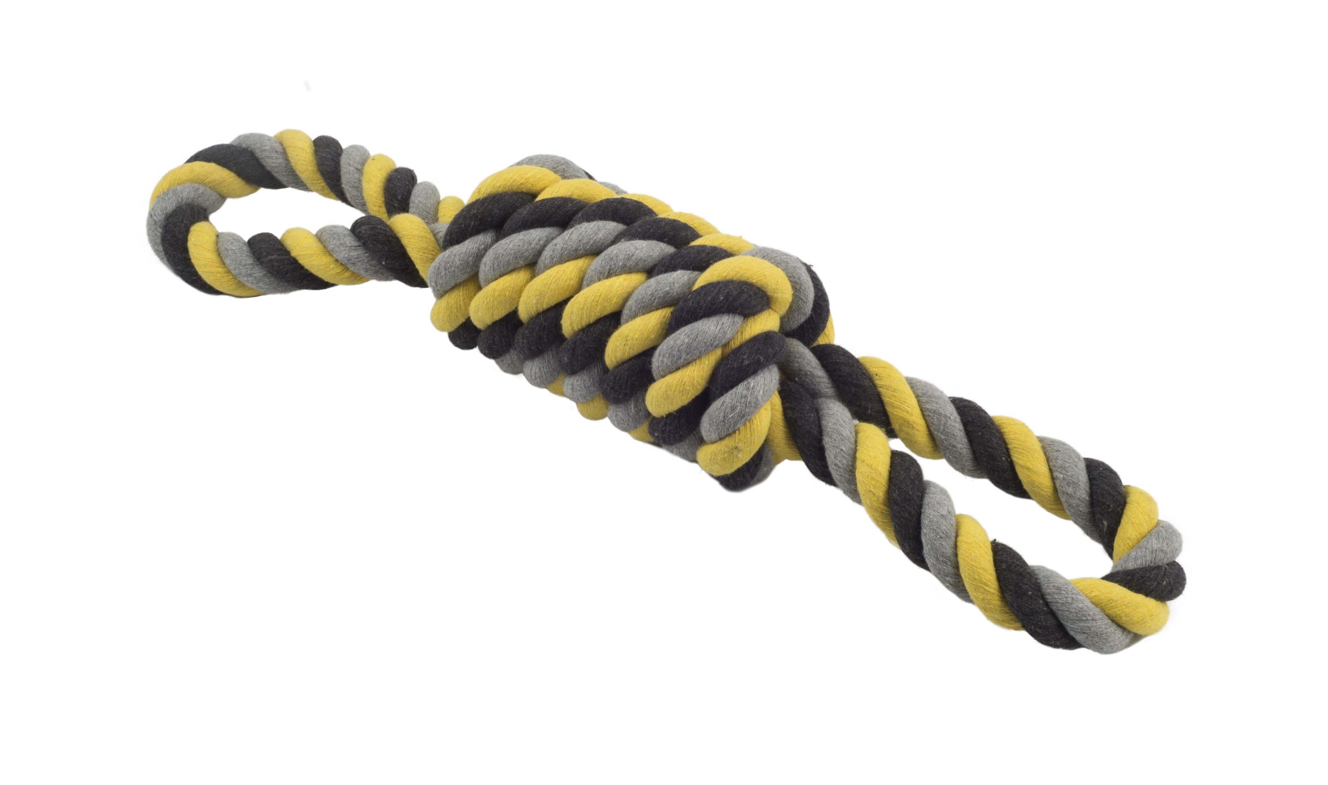 Ancol Jumbo Jaws Rope Log Coil Tugger 53cm x 1