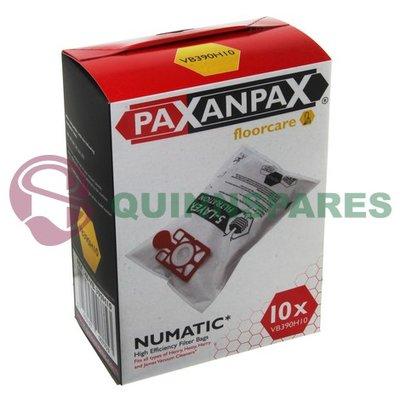 Numatic Henry Microfiber SMS Vacuum Bags Pack of 10 (Box)