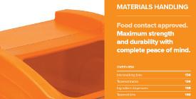 6. Klipspringer Product Guide Autumn 2017 - Materials handling