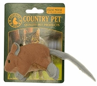 Country Pet Cat Toy - House Mouse x 1