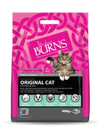 Burns Cat - Fish & Brown Rice 400g x 1