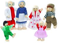 Doll Family 6 Pcs (P/Sng Min 1)