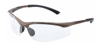 BOLLE CONTOUR NYLON FRAME CLEAR A/M GLASSES