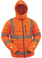 Bison Hi Vis TTMC-W17 Duck Down Puffer Jacket
