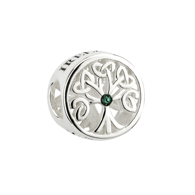 STERLING SILVER TREE OF LIFE BEAD