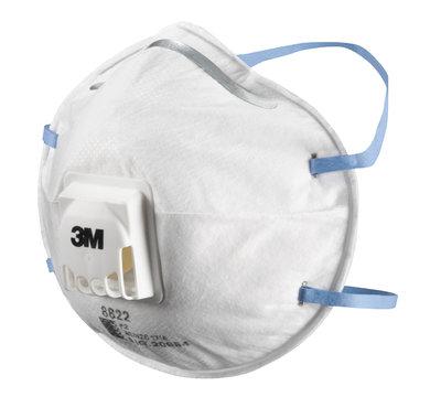 3M 8822 Dust Mask with Valve FFP2 (Box 10)