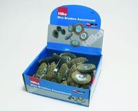 HILKA WIRE BRUSH WHEEL (DISPLAY BOX)
