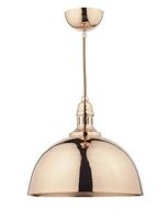 Yoko 1 Light Pendant, Copper | LV1802.0112