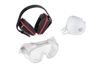 Varo Safety Set (Eyes/Ears/Face Fittings)