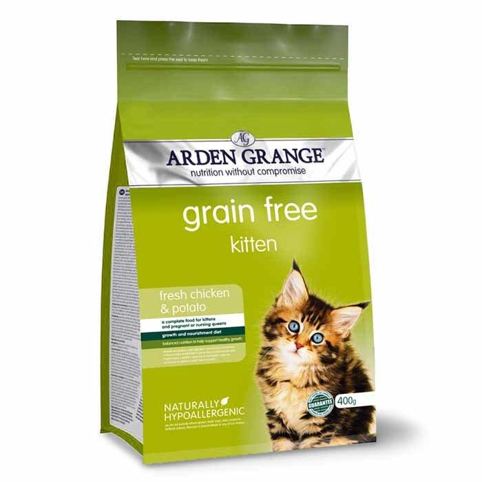 Arden Grange Kitten – grain free – with fresh chicken & potato